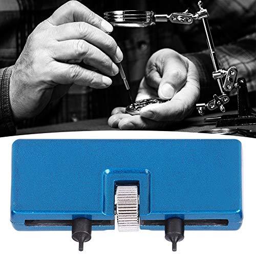 Llave para cubierta trasera de reloj, 2 garras, abridor de caja de reloj de 2,1 pulgadas, para removedor de caja trasera de reloj