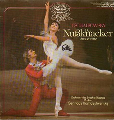 Der Nußknacker, Ausschnitte,, Gennadij Roshdestwenskij, Orch des Bolschoi-theaters Moskau [Vinyl LP]