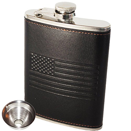 OUTZIE American Flag Flask - Soft Touch Cover ...