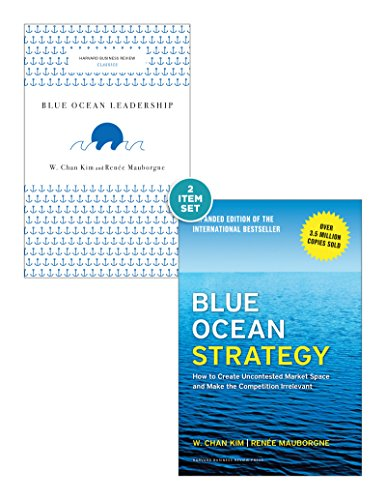 """Blue Ocean Strategy with Harvard Business Review Classic Article """"Blue Ocean Leadership"""" (2 Books) (English Edition)"""