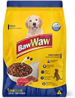 Ração Baw Waw para cães filhotes sabor Carne e Leite 15kg