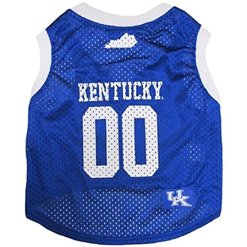 Kentucky Wildcats Pet Basketball Tank Jersey - Medium