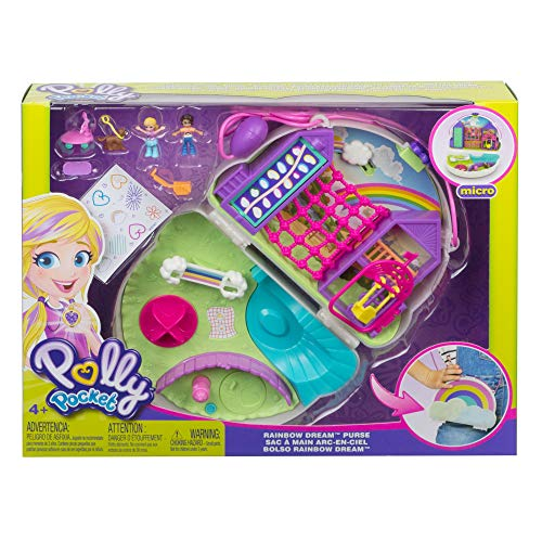 Polly Pocket Hidden Hideouts Lila Dino Discovery Compact Micro Doll and Accessories