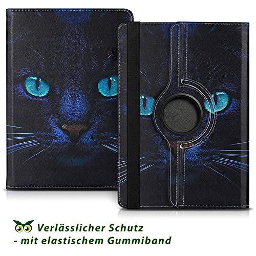 NAUC Tablet Hülle kompatibel für Lenovo Tab 2 A10-70 Tasche Schutztasche Cover Schutz Case 360° Drehbar Etui hochwertiges Kunst-Leder, Farben:Motiv 3