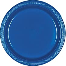 Bright Royal Plastic Plates Supply