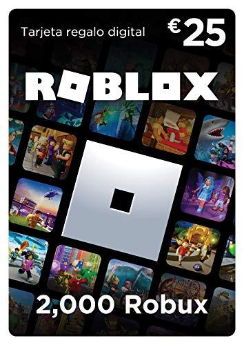 Tarjeta regalo de Roblox - 2,000 Robux