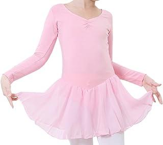 df0bef69a Happy cherry - Traje de Baile Vestido Tutú de Ballet Falda Corta de Danza  Maillot Ropa
