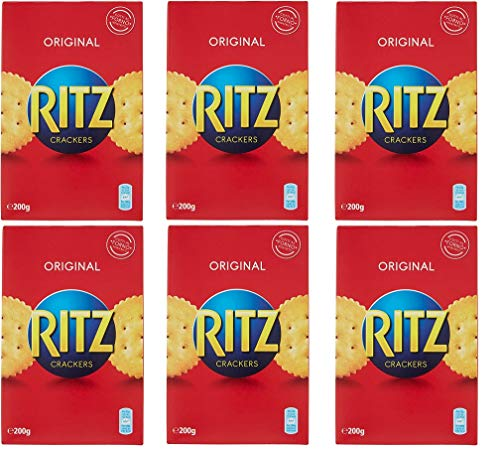 6x Saiwa crackers Ritz 200gr Kesselchips Salzige Kekse salted cookies chips
