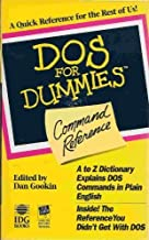 DOS for Dummies Command Reference by Greg Harvey (1993-03-19)