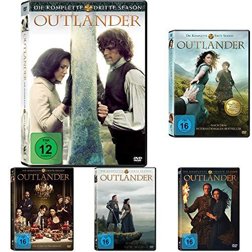 Outlander - Das 5er Film-Boxset (Staffel 1-5)