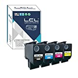 LCL Compatible Toner 80C0S10 800S1 80C2SK0 80C2SKE 802K 802SK 80C0S20 800S2 80C2SC0 80C2SCE 802C 802S K80C0S30 800S3 80C2SM0 80C2SME 80C0S40 800S4 CX310 CX410 CX510 (KCMY) Replacement pour LEXMARK