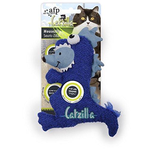 ALL FOR PAWS Juguete para Gatos Catzilla Mousezilla de 19 cm