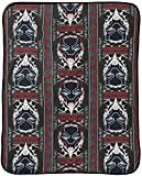 Jay Franco Marvel Black Panther Wakanda Throw Blanket - Measures 46 x 60 inches, Kids Bedding - Fade Resistant Super Soft (Official Marvel Product)