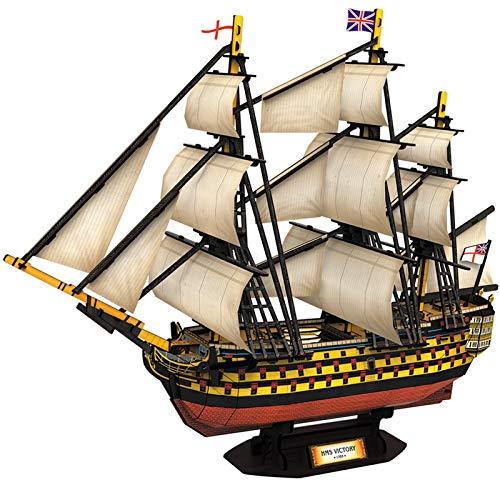 CubicFun T4019H 3D Puzzle - HMS Victory - Schwierigkeit: 5/8