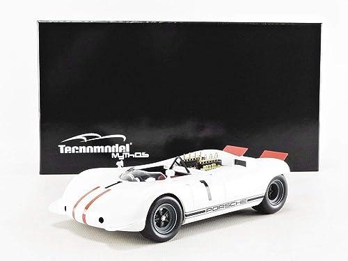 Tecnomodel Mythos Miniaturauto zur Sammlung, TM1884B, Weiß