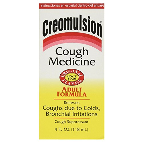 Creomulsion Adult Cough Medicine, 4 Ounce