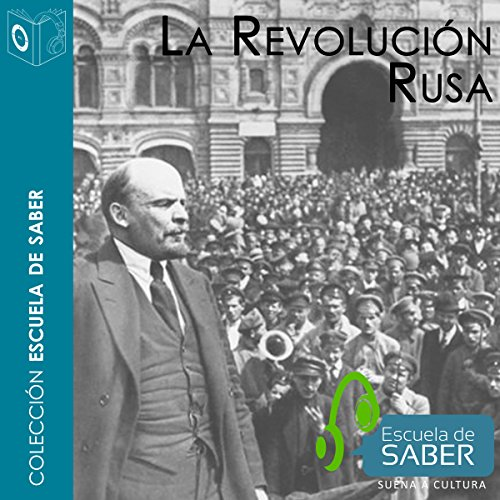 Revolución rusa [Russian Revolution] audiobook cover art