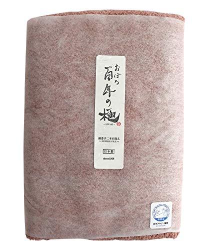 おぼろタオル バスタオル ローズ 60×120cm 「おぼろ百年の極」想像を超える極上の肌触り/日本製