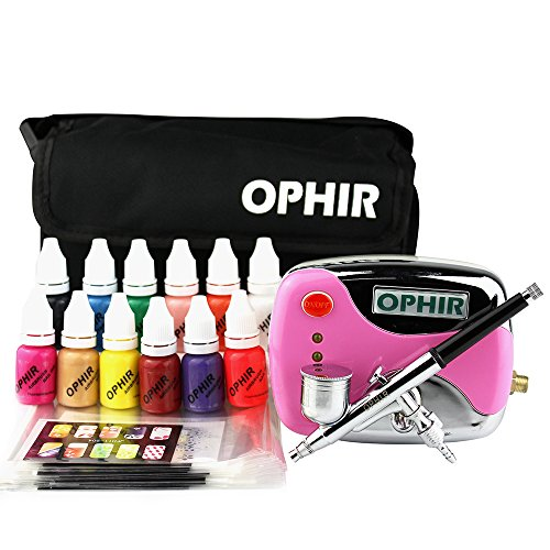 OPHIR 12x Nail Ink Airbrushing 0.3mm...