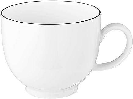 Preisvergleich für Seltmann Weiden 001.737145 Lido Black Line Kaffeeobertasse 0,22 L Schwarz