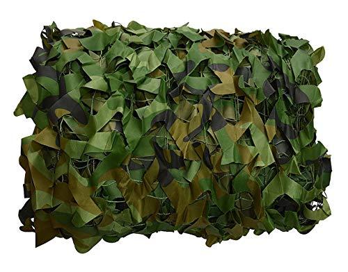 Tarnnetz für die Jagd Camouflage Netz Woodland Blue Desert Weiß Grün Schwarz Digital für Bundeswehr Sniper Armee Fotografie Sonnenschutz Deko Militär Garten 1,5m/2m/3m/4m/5m/6m/7m/8m/10m/12m/20m