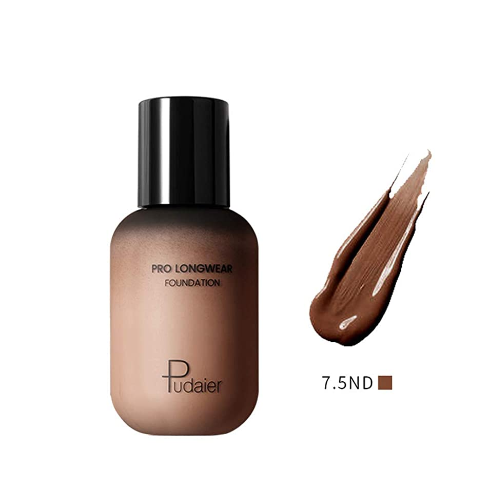 Averyzoe Best Natural Makeup Foundation Pudaier 40 Colors Mineral Foundation and Concealer Dark Complexion Rescue Concealer Beige moisturizer Liquid Foundations