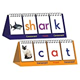 Digraph Spelling Flip Book - 1 Set Includes Simple Consonants and Short Vowels - Educational and Learning Activities for Kids