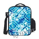 Zebra, borsa termica portatile da picnic, borsa per il pranzo con tracolla per adulti e bambini 25x20x8cm Colore 24