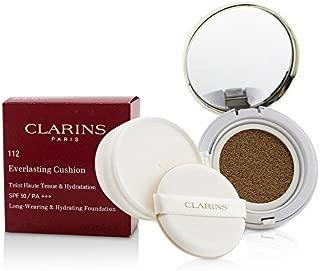 Clarins Everlasting Cushion SPF50 Long-Wearing & Hydrating Foundation #112 Amber - Size 13mL / 0.5 Oz.