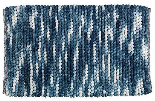 Wenko 23870100 badmat Urdu, polyester, 90 x 60 cm, grijs