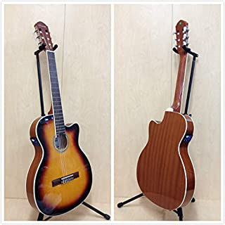 4/4 Caraya 551BCEQ/BS Thin-Body Classical Guitar w/Truss Rod, EQ, Tuner +Free Bag
