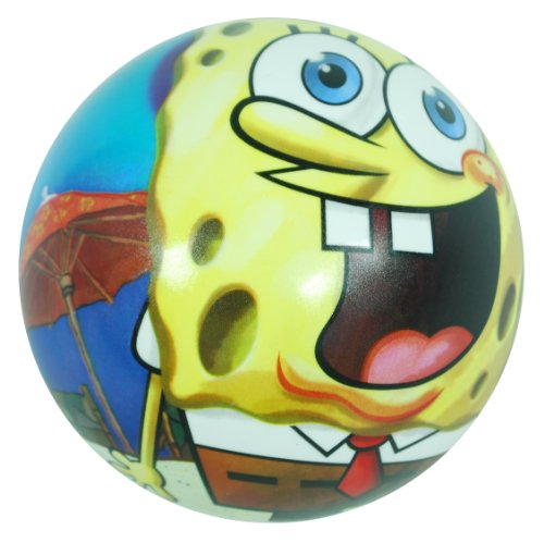 Bob l'éponge – Balle de 140 mm (Saica Toys 8304)