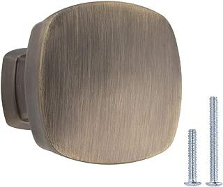 AmazonBasics AB500-AB-10 Cabinet Knob, 1.26