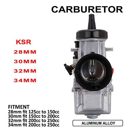Carburador OKO para Motocicleta de 21 mm para Honda Suzuki Kawasaki Yamaha KTM 90 CC a 110 CC