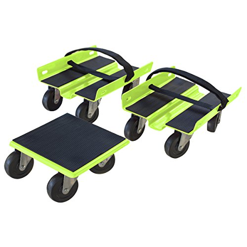 Black Bull Steel Snowmobile Dolly Set