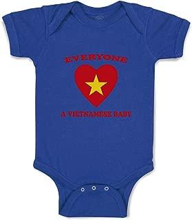 Custom Boy & Girl Baby Bodysuit Everyone Loves Vietnamese Cotton Baby Clothes