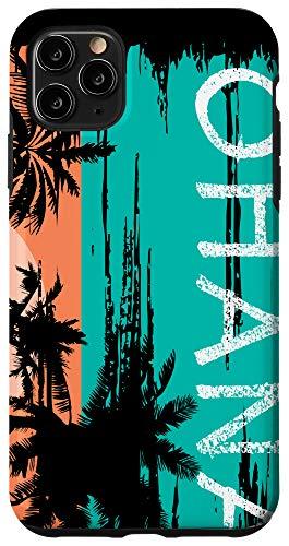 iPhone 11 Pro Max Ohana Aloha Hawaii Summer Island Surfer Case