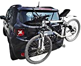 Portabici posteriore per auto PBLS01 fino a 3 bici universale bicicletta in vacanza parco mare - prodotto certificato e omologato