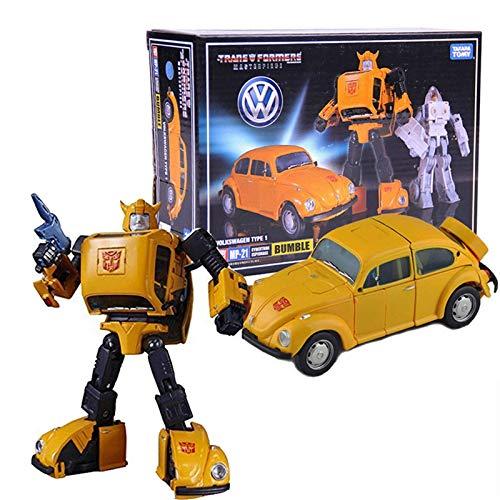 ZZCC Deformation Toys, Transformers Toy Series Master MP21 Bumblebee Autobot Figura Figura Deformación Juguete