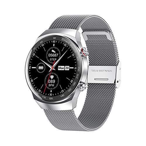 YDK AK26 Smart Watch Ritmo Cardíaco Presión Arterial Monitoreo De Sueño Bluetooth Call Impermeable Fitness Music Menores Y Mujeres Pulsera Inteligente para Android iOS,C