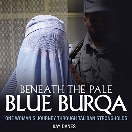 Beneath the Pale Blue Burqua audiobook cover art