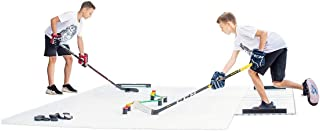 Hockey Revolution My Puzzle Durable Flooring Tiles - Slick Interlocking Training Surface for Stickhandling, Shooting, Pass...