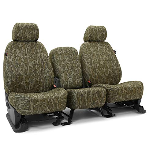 Tailored Seat Covers Neosupreme Camo Mossy Oak Bottomland Solid for 2018-2019 Ford Truck F-150/250/350 NO SuperDuty