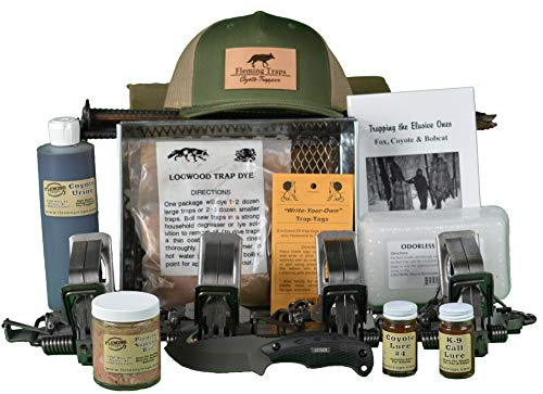Price comparison product image Fleming Traps Coyote Trapping Kit - Standard - 550