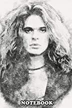 Notebook: Check Out For More Si David Lee Roth In Pen Sketching , Journal for Writing, College Ruled Size 6