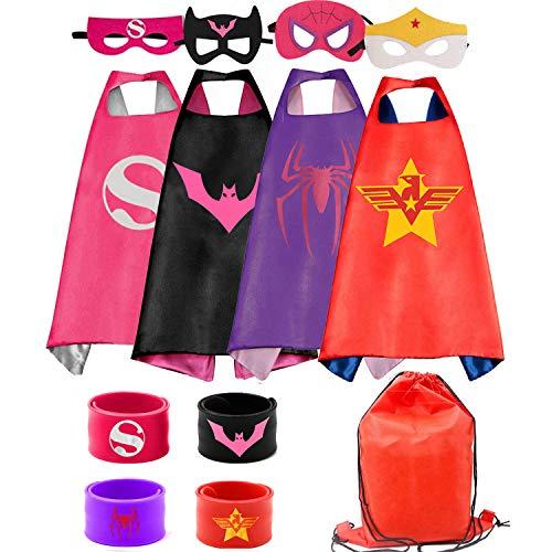 Kids Dress Up 4PCS Superhero Capes …