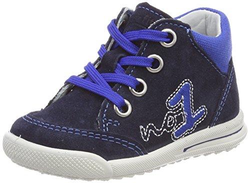 Superfit Baby Jungen Avrile Mini Sneaker, Blau (Ocean Kombi), 25 EU