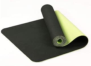 HighlifeS Yoga Mat, Classic Pro Yoga Mat TPE Eco Friendly Non Slip Fitness Exercise Mat,100% Absorbent Odorless Microfiber,for Hot Yoga, Bikram, Pilates (A)