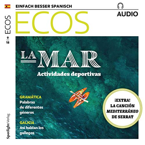 ECOS Audio - La mar, actividades deportivas. 9/2018     Spanisch lernen Audio - Sport am Meer              By:                                                                                                                                 Covadonga Jimenez                               Narrated by:                                                                                                                                 div.                      Length: 1 hr and 5 mins     Not rated yet     Overall 0.0