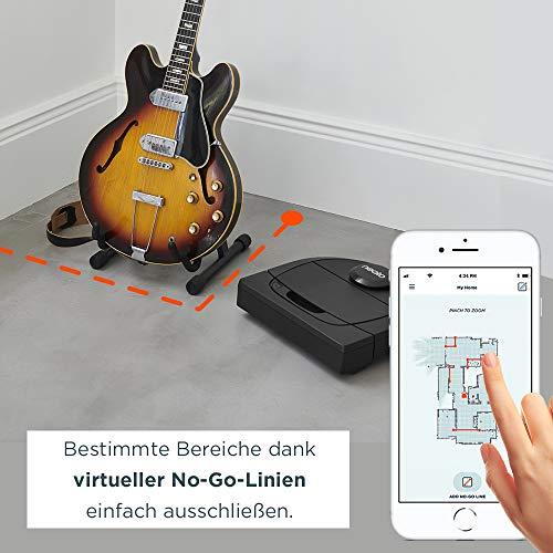 Neato Robotics Botvac D602 Connected – Saugroboter Alexa kompatibel & für Tierhaare – Automatischer Staubsauger Roboter mit Ladestation, Wlan & App - 2